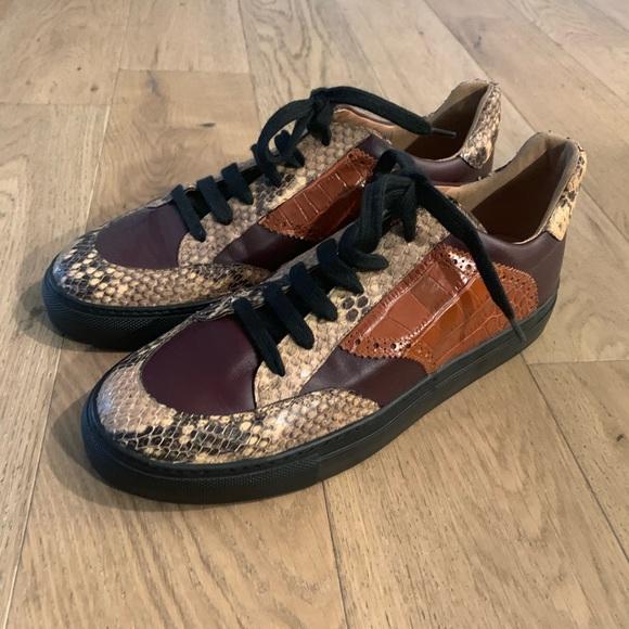 Dries Van Noten Reptile Shoes Size 95